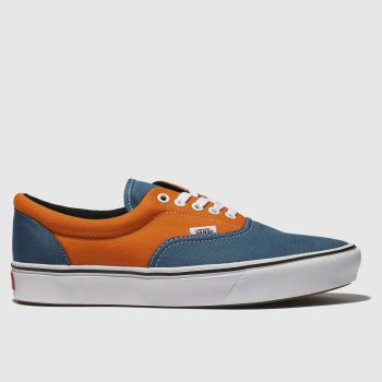 Vans Orange Comfycush Era Mens Trainers