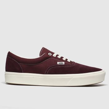 Vans Burgundy Comfycush Era Mens Trainers