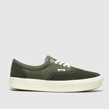 Vans Dark Green Comfycush Era Mens Trainers