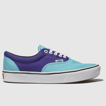 Vans Blue Comfycush Era Mens Trainers
