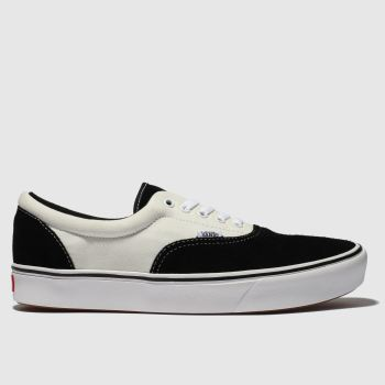 Vans Black & White Comfycush Era Mens Trainers from Schuh