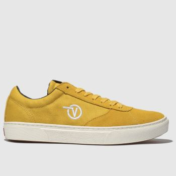 Vans Yellow Paradoxxx Mens Trainers