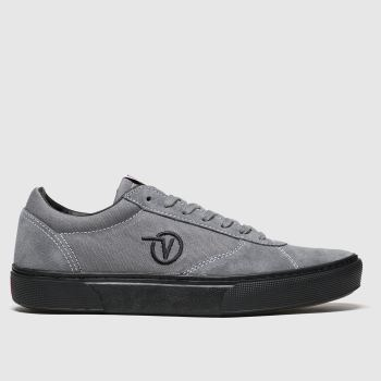Vans Grey & Black Paradoxxx Mens Trainers