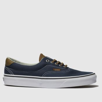 Vans Navy & White Era 59 Mens Trainers