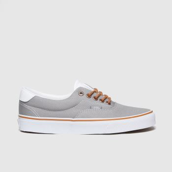 Vans Grey Era 59 Mens Trainers#