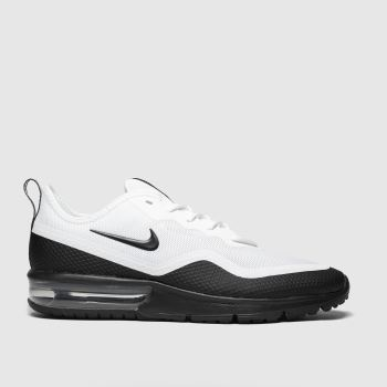 Nike White & Black Air Max Sequent 4.5 Mens Trainers