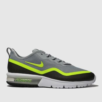promo code e02d3 fcdfa Nike Black   Grey Air Max Sequent 4.5 Mens Trainers