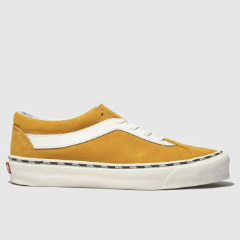 Vans Orange Bold New Issue Mens Trainers