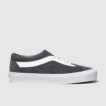 vans dark grey bold new issue trainers