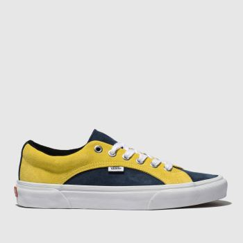 Vans Navy & White Lampin Mens Trainers
