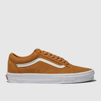 Vans Orange Old Skool Herren Sneaker