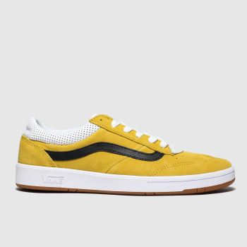 Vans Yellow Cruze Mens Trainers