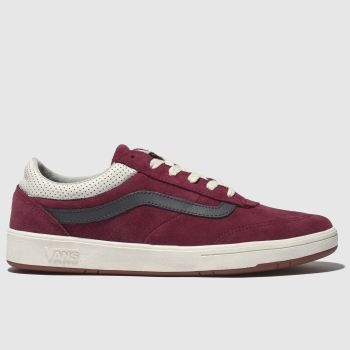 Vans Burgundy Cruze Mens Trainers