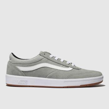 vans light grey uc cruze trainers