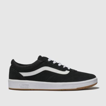 Vans Black & White Cruze Mens Trainers