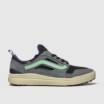 Vans Grey & Black Ultrarange 3d Mens Trainers
