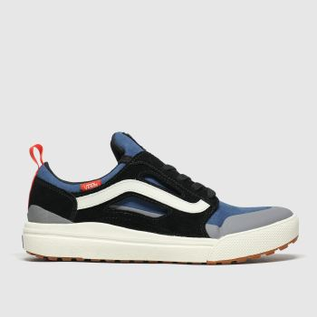 Vans Black & Navy Ultrarange 3d Mens Trainers
