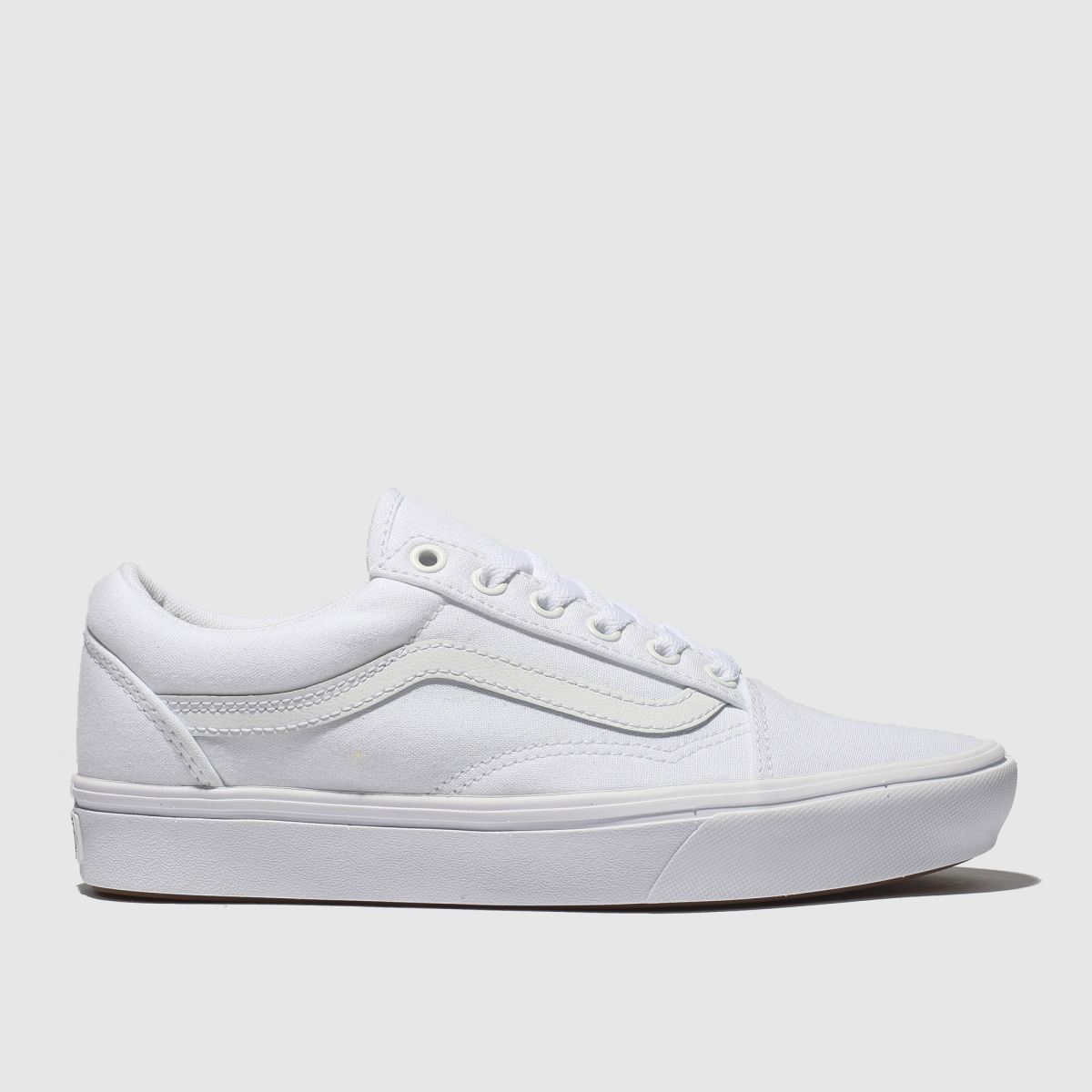 Vans White Comfycush Old Skool Trainers