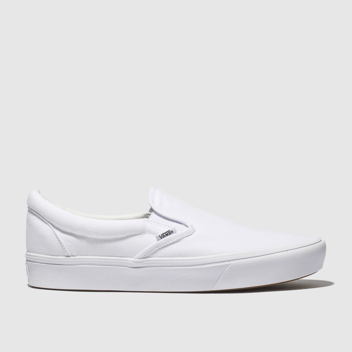 Vans White Comfycush Slip-on Trainers