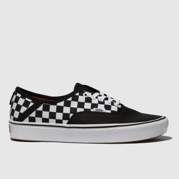 Vans Black & White Comfycush Authentic Mens Trainers