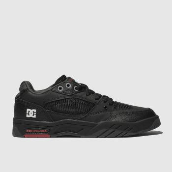 dc black maswell trainers