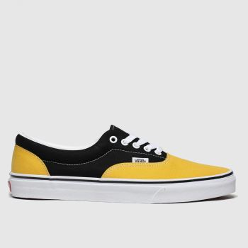Vans Yellow Era 2tone Mens Trainers