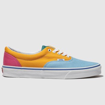 Vans Blue & Yellow Era Mens Trainers