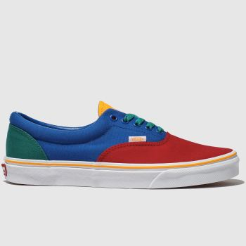 Vans Blue & Red Era Primary Mens Trainers