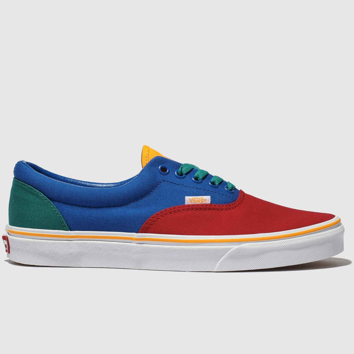 Vans Blue & Red Era Primary Trainers