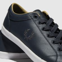 Fred Perry Baseline Leather 1