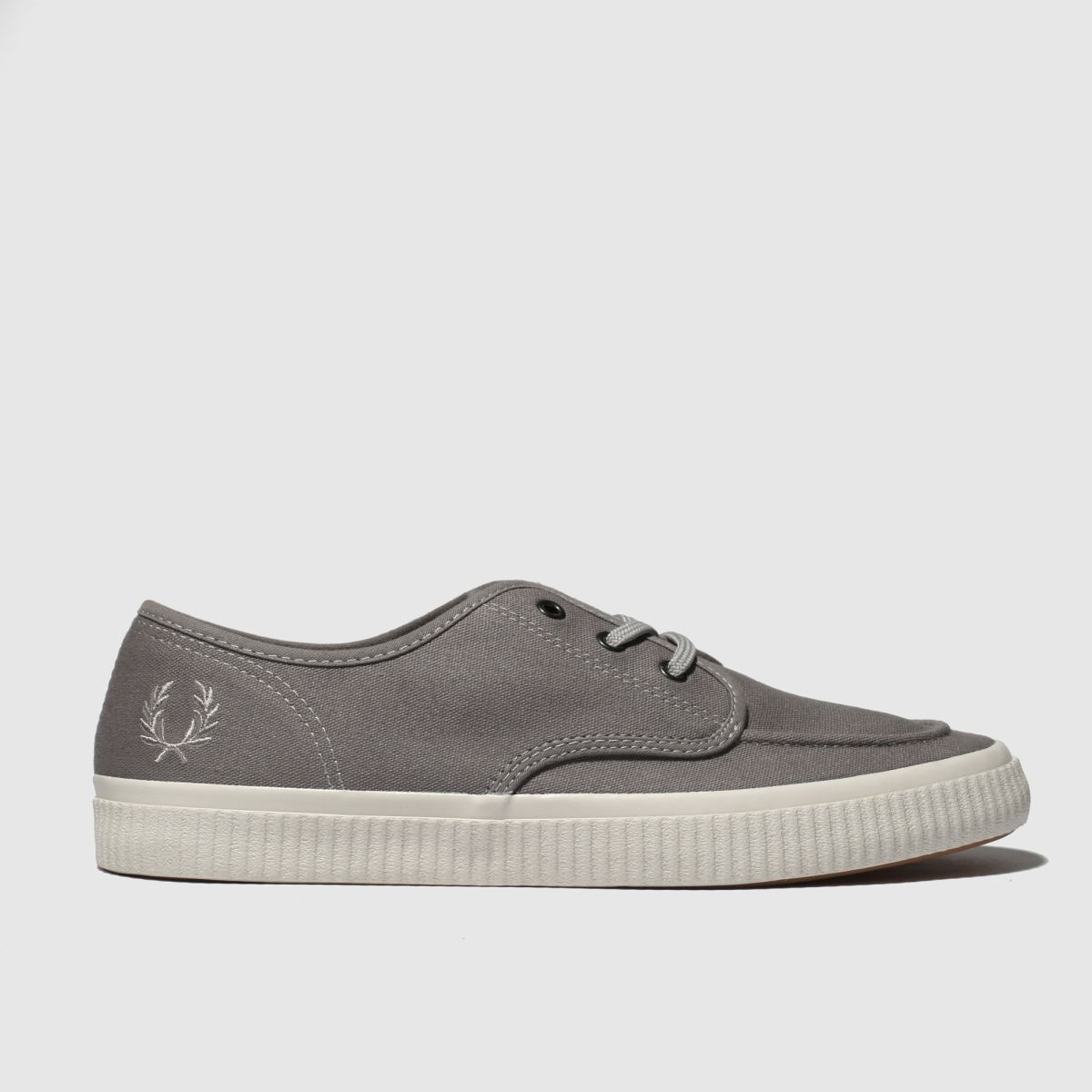 Fred Perry Grey Ealing Low Trainers