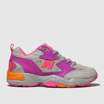New Balance Pink 608 Mens Trainers
