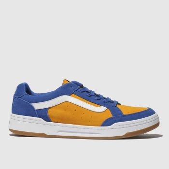 Vans Blue & Orange Highland Mens Trainers