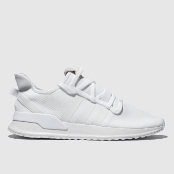 Adidas White U_Path Run Mens Trainers