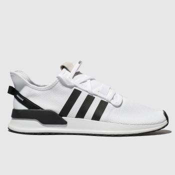 Adidas White & Black U_path Run Mens Trainers