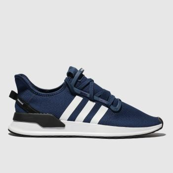 Adidas Navy & White U_path Run Trainers