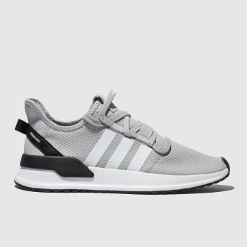 Adidas Grey U_Path Run Mens Trainers