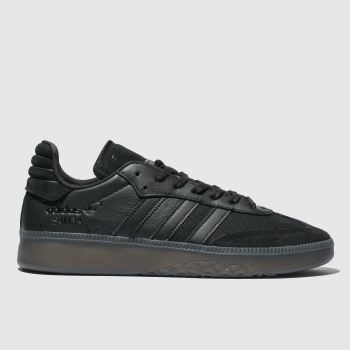 Adidas Black Samba Rm Mens Trainers