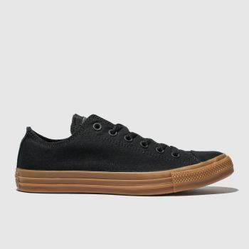 Converse Black Chuck Taylor All Star Ox Mens Trainers
