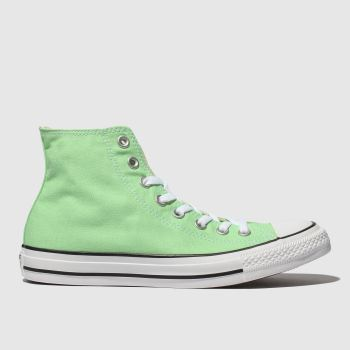 Converse Green Chuck Taylor All Star Hi Mens Trainers