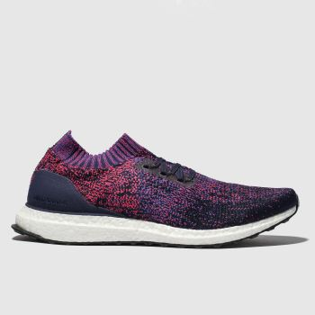 Adidas Purple Ultraboost Uncaged Mens Trainers