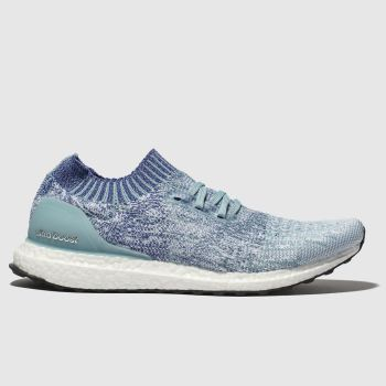 Adidas Pale Blue Ultraboost Uncaged Mens Trainers