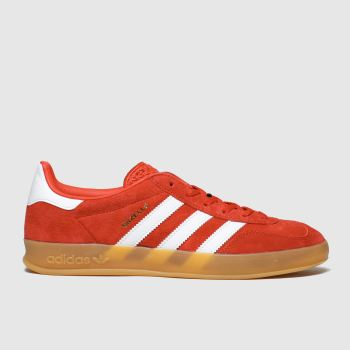 Adidas Red Gazelle Indoor Mens Trainers