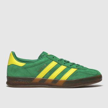 Adidas Green Gazelle Indoor c2namevalue::Mens Trainers
