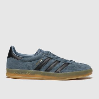 Adidas Navy & Black Gazelle Indoor c2namevalue::Mens Trainers