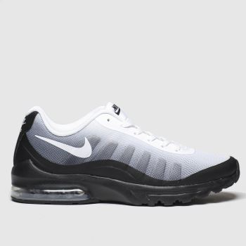 Nike White & Black Air Max Invigor Mens Trainers