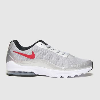 Nike Light Grey Air Max Invigor Mens Trainers#