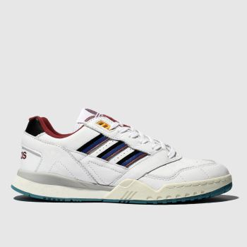 Adidas White & Navy A.R. Mens Trainers