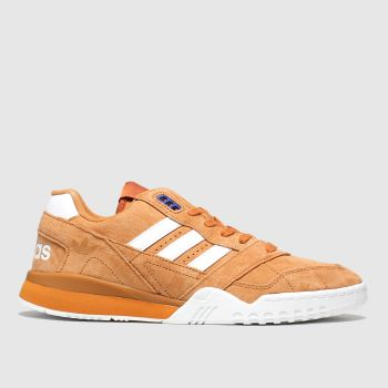Adidas Orange A.r. Mens Trainers