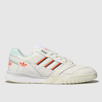 Adidas White & Orange A.r. Mens Trainers